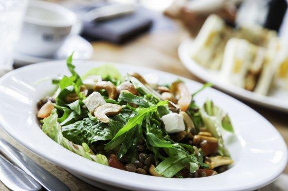 Restaurant pour végétariens et végétaliens