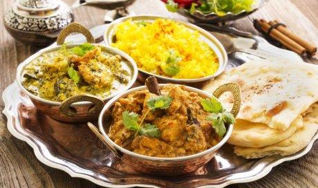 Restaurant indien avec vente de plats à emporter à Grenoble